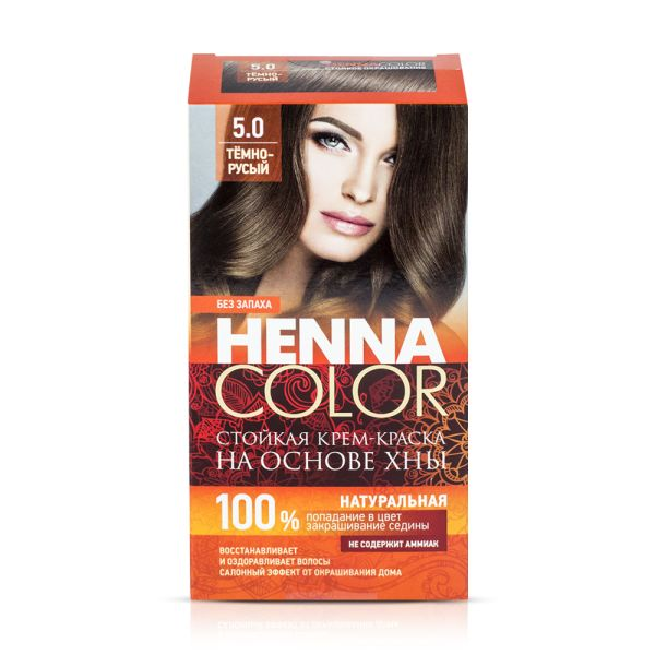 Haarfarbe fito HENNA COLOR, 4.36 dunkelblond